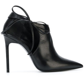 Saint Laurent Heeled Ankle Boots - Farfetch