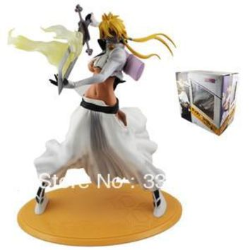 "Anime Bleach Sexy Girl Figurine Arrancar Tercera Espada Tear Halibel 9.2"" PVC Action & Toy Figures free shipping"