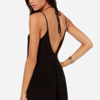 In Short Order Black Romper
