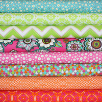 Modern Bliss quilt or craft fabric bundle by Andie Hanna for Robert Kaufman- 1/2 Yard Bundle