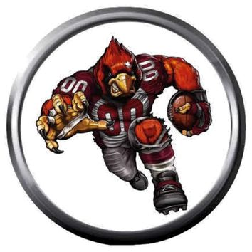 Arizona Cardinals NFL Football Player Logo 18MM - 20MM Snap Jewelry Charm New Item