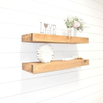 Floating Shelf, Thinner Floating Shelves, Wall Shelf, Farmhouse Decor