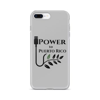 """""""Power To Puerto Rico""""  -An iPhone SafetyCase"""
