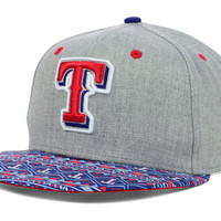 Texas Rangers MLB Fair Isle Flip 9FIFTY Snapback Cap