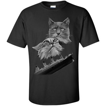 Titanic Cats Shirts, Tanks, and Hoodies