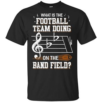 Marching Band What Is The Football Team Doing On Field
