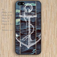 iPhone 5s 6 case frozen anchor colorful phone case iphone case,ipod case,samsung galaxy case available plastic rubber case waterproof B365
