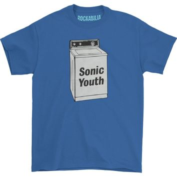 Sonic Youth Men's  Washing Machine T-shirt Royal