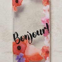 Monika Strigel Bonjour iPhone 6 Case in Clear Size: One Size Tech Essentials