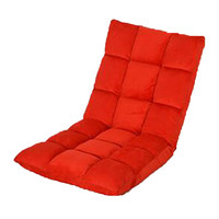 dawdler sofa armrest small sofa chair single folded sofa bed back-rest chair   large   red