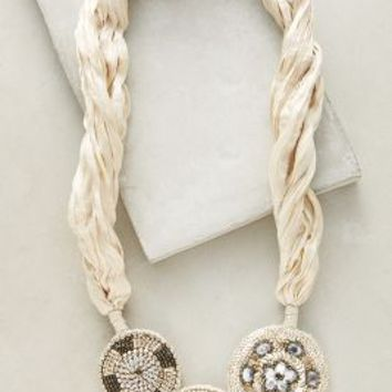 Liande Necklace by Anthropologie in Ivory Size: One Size Necklaces