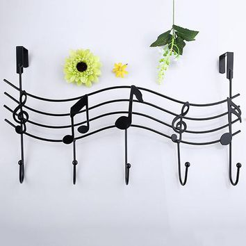 Metal Music Note Hook  Wall Decor