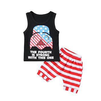 The Fourth Is Strong With This One 2-Piece Set
