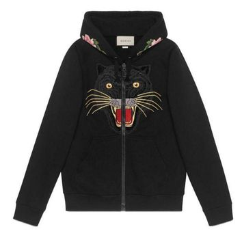 ICIKN6V Fashion GUCCI cardigan sweater zipper Hoodies H-AGG-CZDL