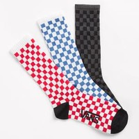 Checkerboard Sock 3 Pack