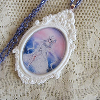 Sailor Moon Necklace - PRINCESS SERENITY - Moon Princess - Sailor Scout Jewelry
