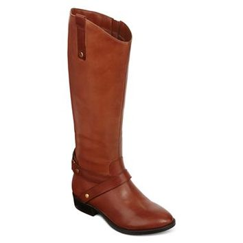 Liz Claiborne Renea Leather Boots