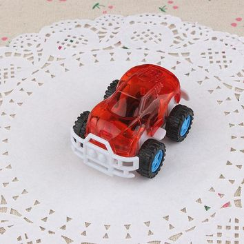 DCCKL72 3Pcs/Set Best Gift Candy Color Plastic Cute Toy Cars for Child hot wheels Mini Car Model Kids Toys for Boys Juguetes