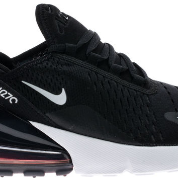 AIR MAX 270 GRADE SCHOOL LIFESTYLE SHOE K(BLACK WHITE ANTHRAC... shoepalace. com 3163232724d2
