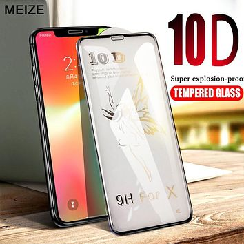 10D Advanced Tempered Glass For iPhone X Screen Protector On The For iPhone 6 6s 7 8 Plus X Xs Xr Xs Max Glass Screen Protection