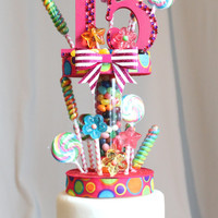 Candy Land Cake Topper