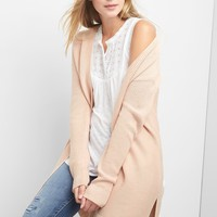 Textured open-front cardigan | Gap