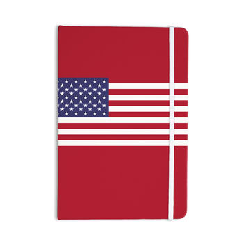 "Bruce Stanfield ""Flag of USA"" Contemporary Digital Everything Notebook"