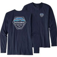 Patagonia Men's Fitz Roy Hex Long Sleeve T-Shirt | DICK'S Sporting Goods