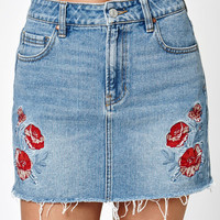 PacSun Floral Embroidered Skirt at PacSun.com