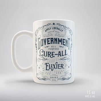 Government Cure-All Snake Oil Elixir