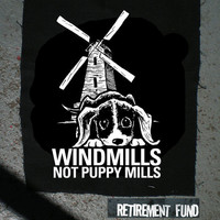 Windmills not Puppy Mills vegan vegetarian PATCH