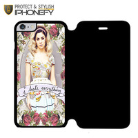 Marina And The Diamond Hate Everything iPhone 6 Flip Case|iPhonefy