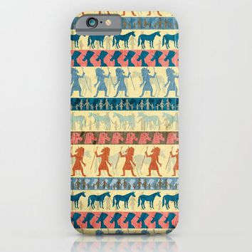 Egyptian Unicorn Pattern iPhone & iPod Case by That's So Unicorny