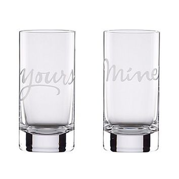kate spade new york Two Of A Kind Mine & Yours Barware