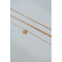 Three Layered Pendent Necklace