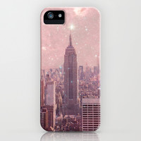 Stardust Covering New York iPhone & iPod Case by Bianca Green