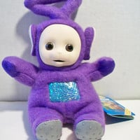 Teletubbies Tinky Winky Beanie Toy 1996 Red Stuffed Doll BBC