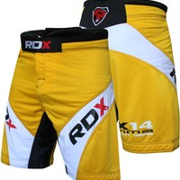 RDX Shorts UFC MMA Grappling Short Yellow