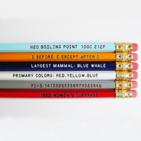Know It All Pencil Set