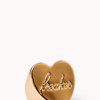 Heart Breaker Signet Ring