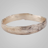 Ancient Viking  Wedding Band Jewelry C.866-1067A.D. Size 9   (20.3mm) (Brr709)