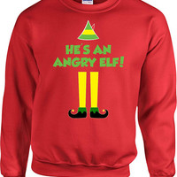 Funny Christmas Sweater Buddy The Elf Quotes Holiday Present Xmas Gift Ideas Christmas Humor Pullover Crewneck Sweatshirt Hoodie - SA705