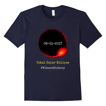 08/21/2017 Total Solar Eclipse Sun Moon t-shirt