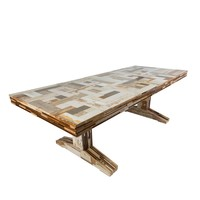 The Future Perfect - Waste Table in Scrapwood - New