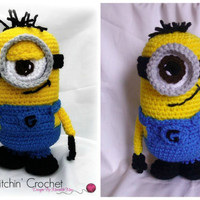 Minion; CROCHET PATTERN PDF