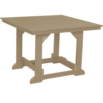 Wildridge Heritage Outdoor Dining Table 44x44  - Ships in 10-14 Business Days
