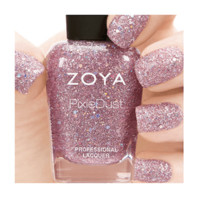 Zoya Lux from the Magical Pixie Collection: NEW Holographic PixieDust Nail Polish Colors