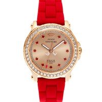 Pedigree Pink Gold and Red Jelly Watch