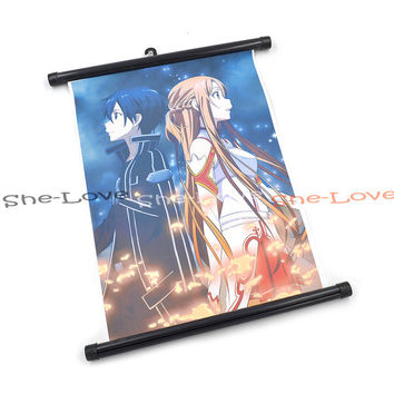Sword Art Online Wall Poster Scroll Anime Manga