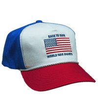 Back to Back World War Champs Rope Hat - Red/White/Blue